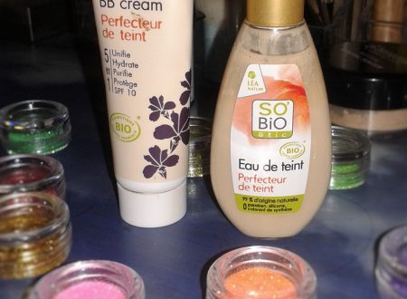 Acqua di tinta/bbcream so'bio a confronto
