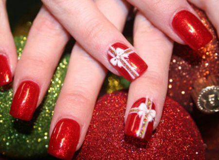Nail art natalizie per principianti