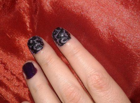 bas-rilief nail art