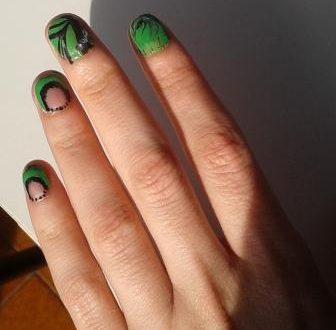 Marble nail art più piccolo decoro