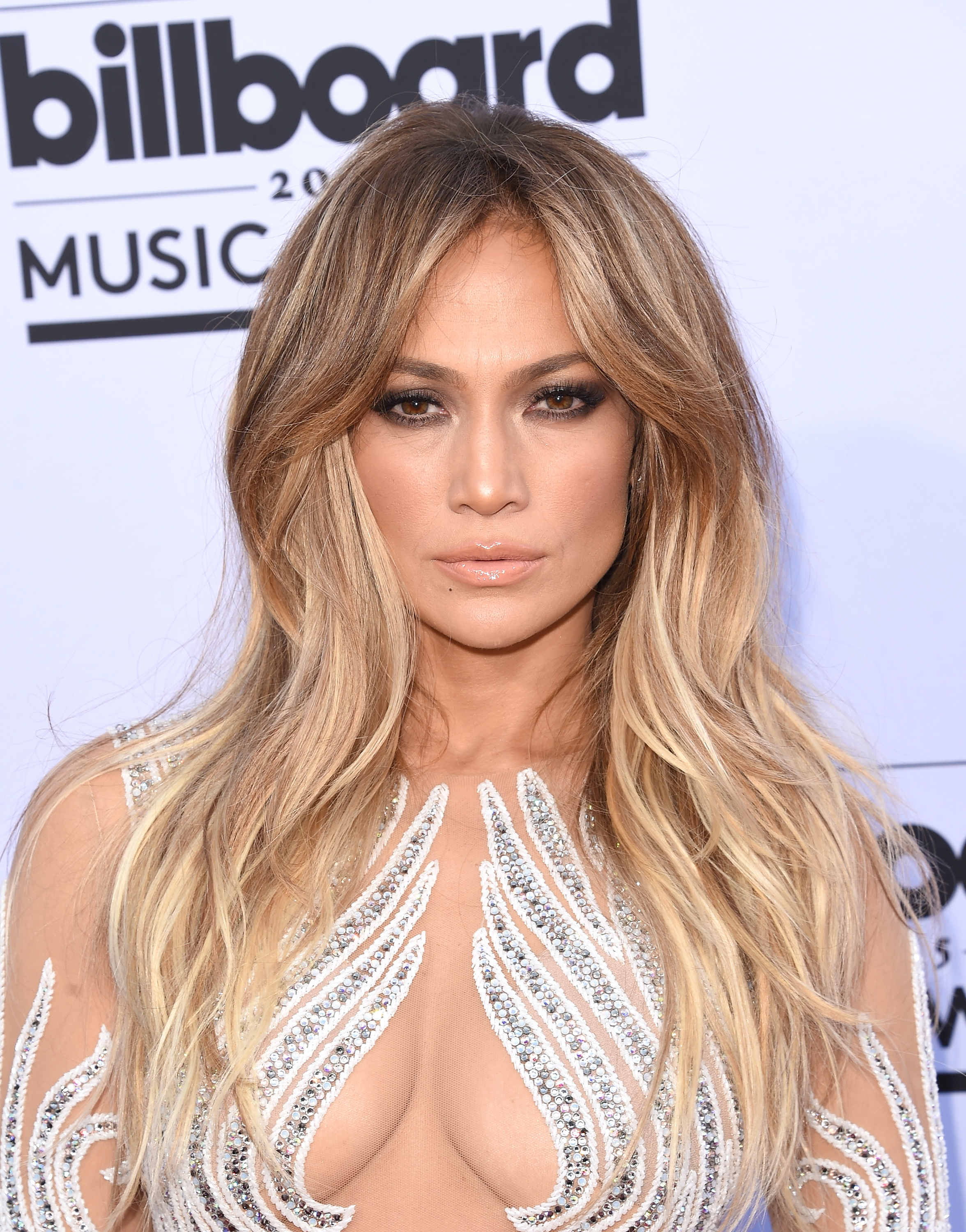 LAS VEGAS, NV - MAY 17: Actress/singer Jennifer Lopez arrives at the 2015 Billboard Music Awards at MGM Garden Arena on May 17, 2015 in Las Vegas, Nevada. (Photo by Jason Merritt/Getty Images)