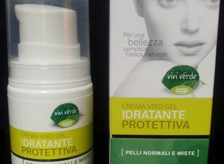 Crema viso gel per pelli miste vivi verde