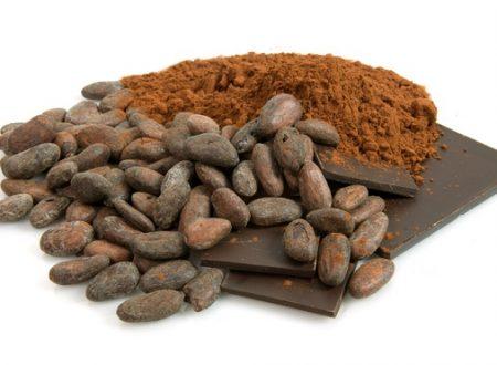 Cacao per uso cosmetico
