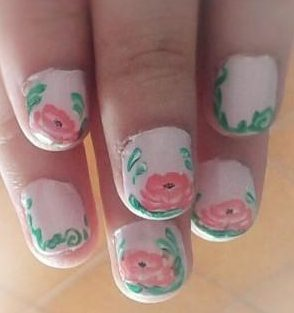 Waterlily nails