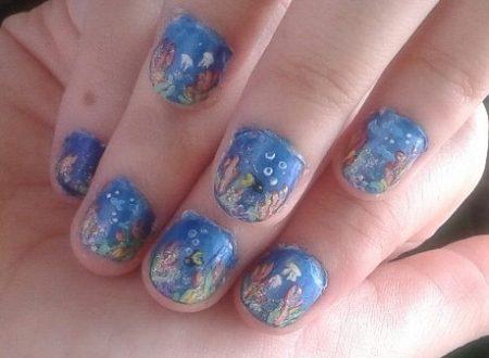 Underwater nails