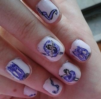 Dancer nails