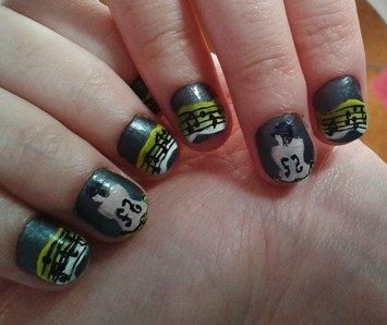 Man Ray music nails