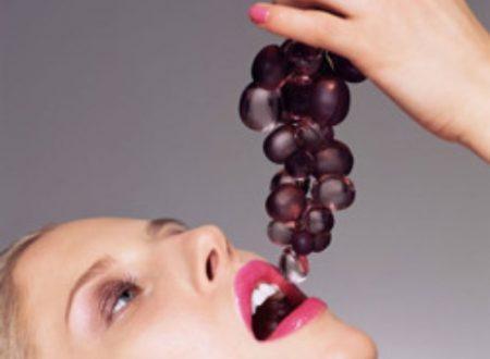 Uva per uso cosmetico