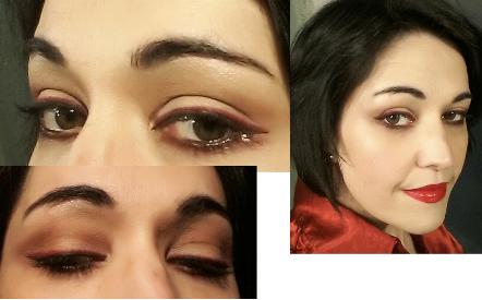 Double eyeliner makeup