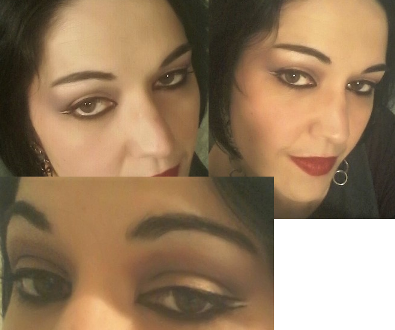 Arabian night makeup