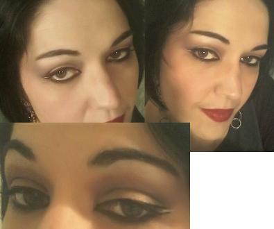 Arabian night makeup