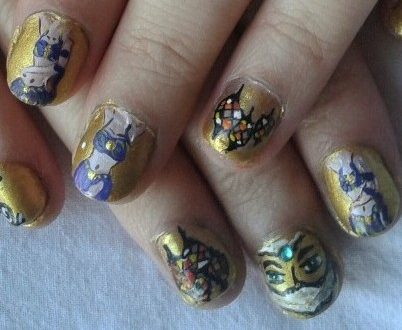 Bellydance nails