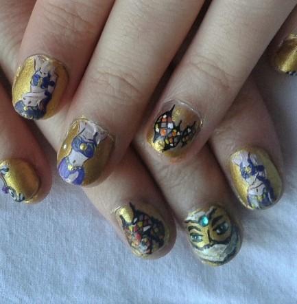 bellydance-nails