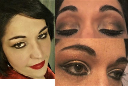 Egypt night makeup