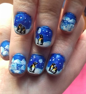 arctic-and-penguins-nails
