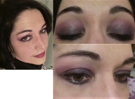 Dark violet smokey