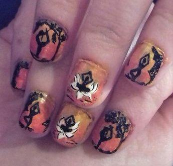 Yoga nails