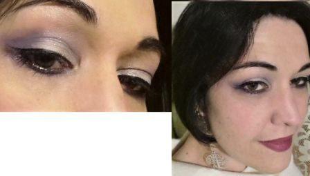 Glow night makeup