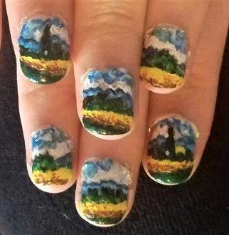 Van Gogh nails