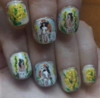Woman's day nails