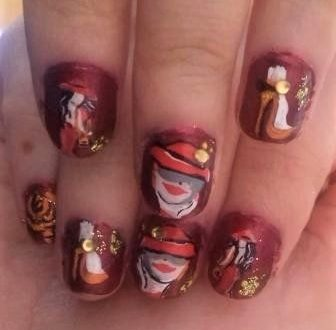 Fashion women nails