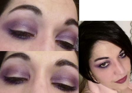 Purple smokey-JS inspired
