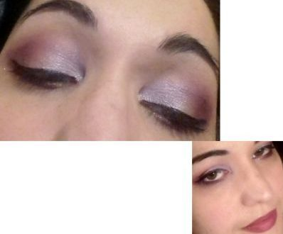 Spring night makeup
