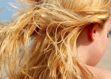 Maschera capelli estate