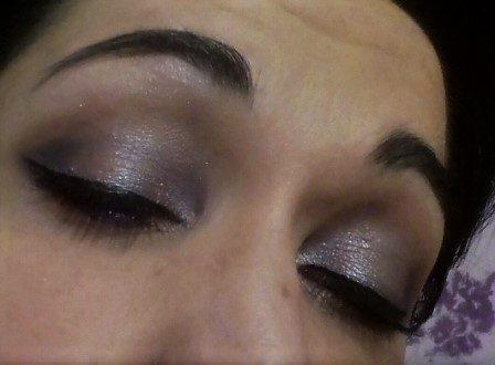 Luminous night makeup