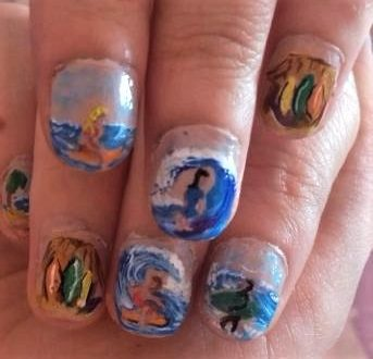 Surfers nails