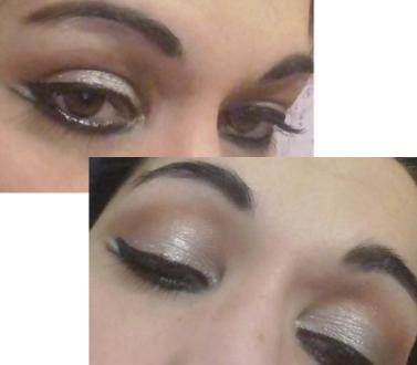 Arabic silver makeup