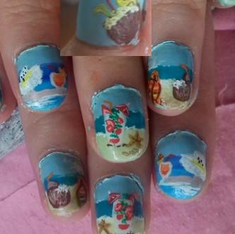 Cocktails nails