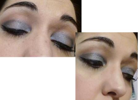Blue vibrant makeup
