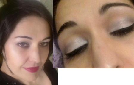 Elegant coco makeup