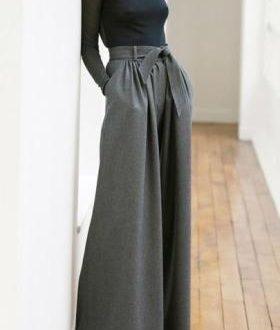 Pantaloni  a palazzo autunno 2017