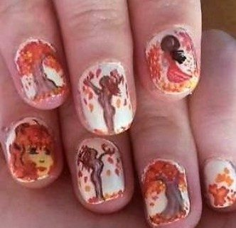 The autumn spirit nails