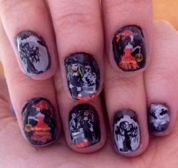 Sexy Halloween nails