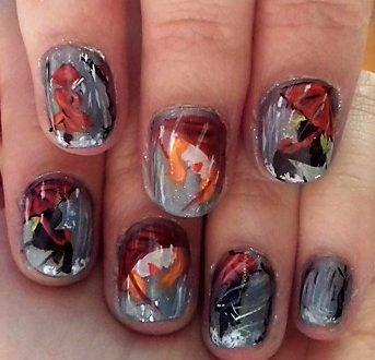 The rainy day nails