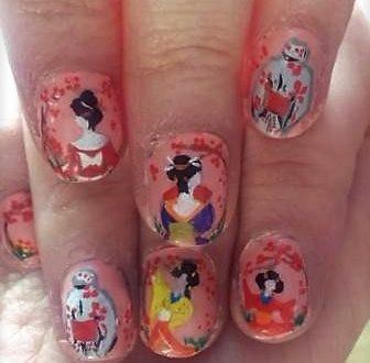 Kimono nails