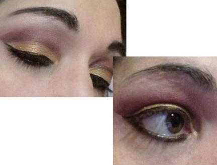 Extra cut crease makeup