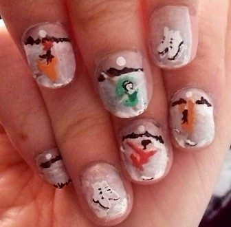 On ice nails