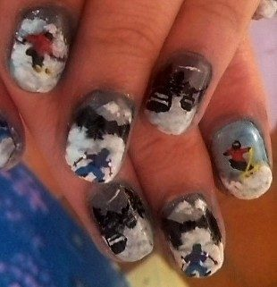 Skiers nails