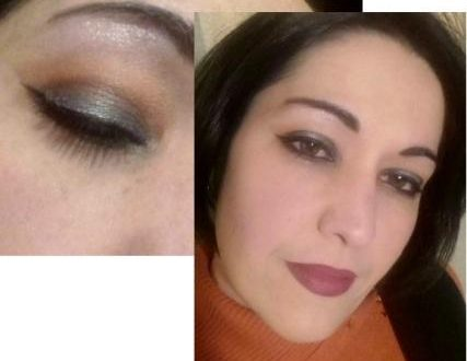 Holo cut crease makeup