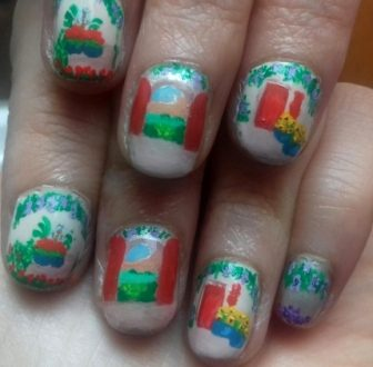 Landscape view nails
