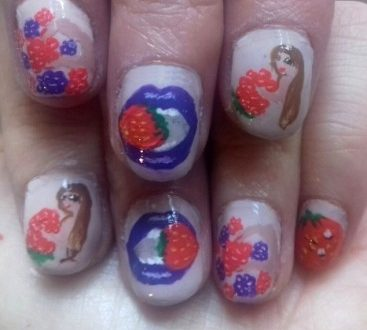 Berries nails