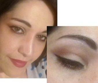 Nude summer makeup