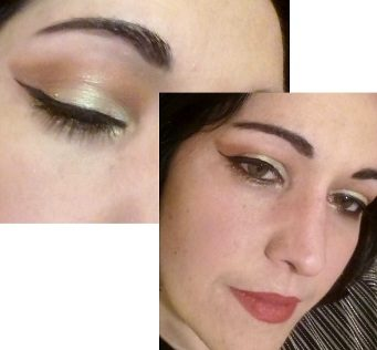 Summer night makeup