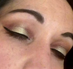 Glam summer mkeup