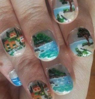 Italian coast nails