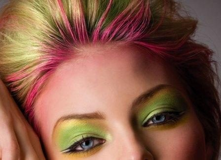 hair makeup homemade